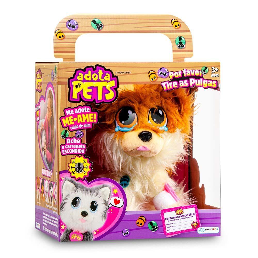 Pelucia Adota Pets - Lulu Com Acessórios - Multikids