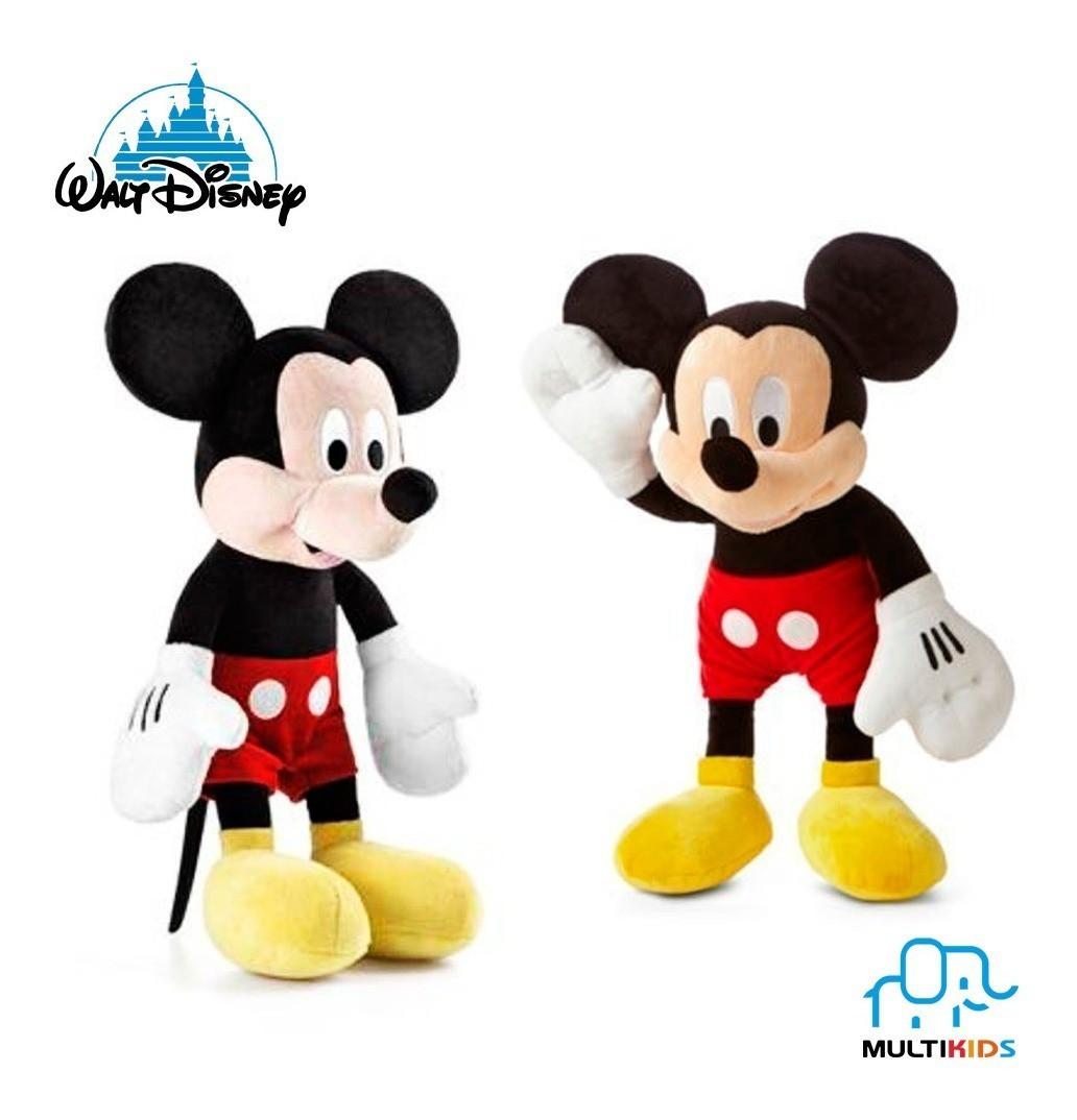 Pelúcia Mickey Com Som  - Disney  - Tam 33cm - Multikids