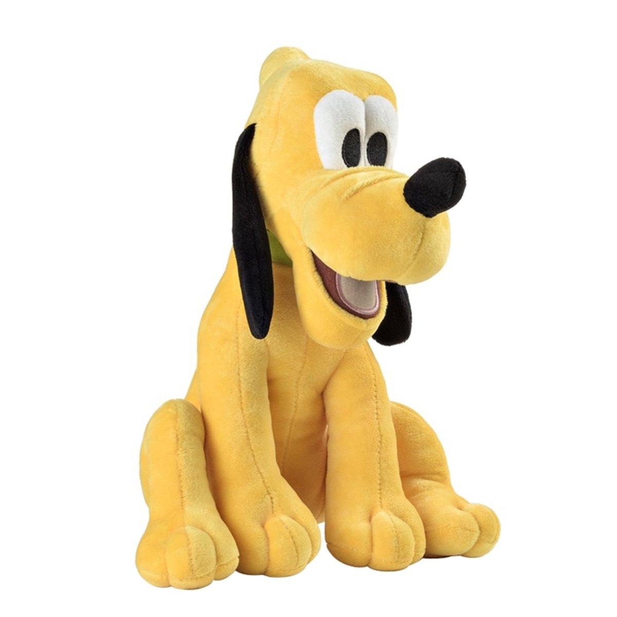Pelúcia Pluto Com Som  - Disney  - Tam 33cm - Multikids