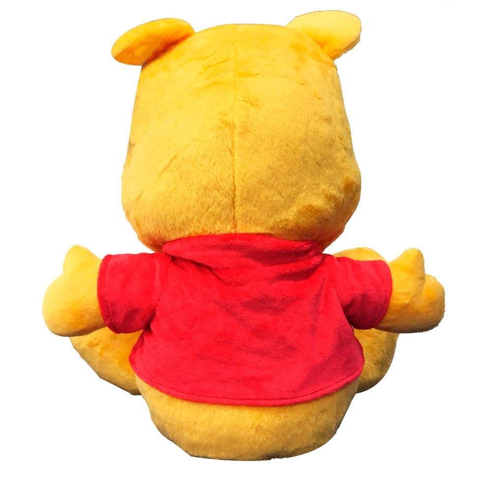 Pelúcia Ursinho Pooh Big Feet  - Disney  - Tam 35cm - Fun