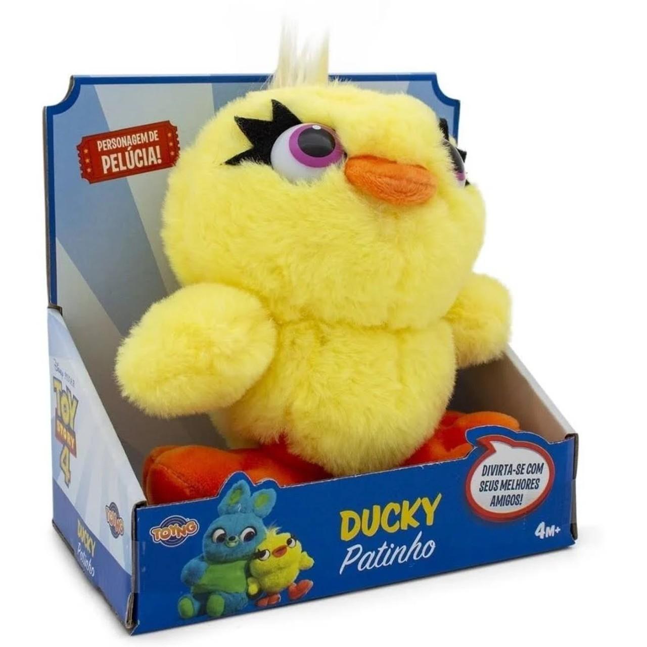 Pelúcia Toy Story - Patinho Ducky 17cm - Disney Pixar Toyng