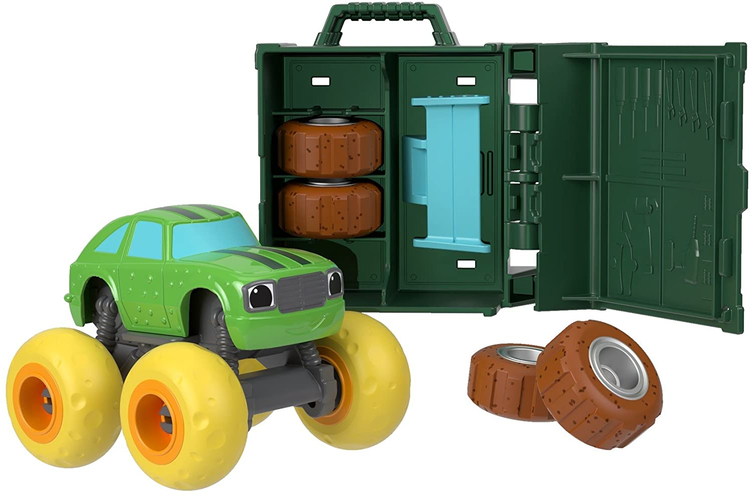 Carro Pickle - Blaze and The Monster Machines Tune-Up Tires