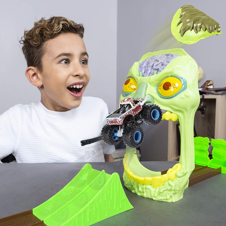 Pista Monster Jam - Playset Zombie Madness - 2019 Original