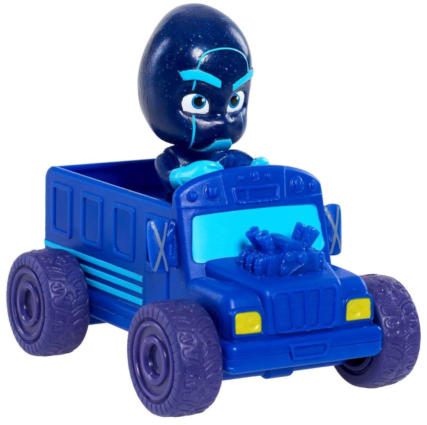 PJ Masks - Mini Veículo e Figura Ninja Noturno - Original DTC