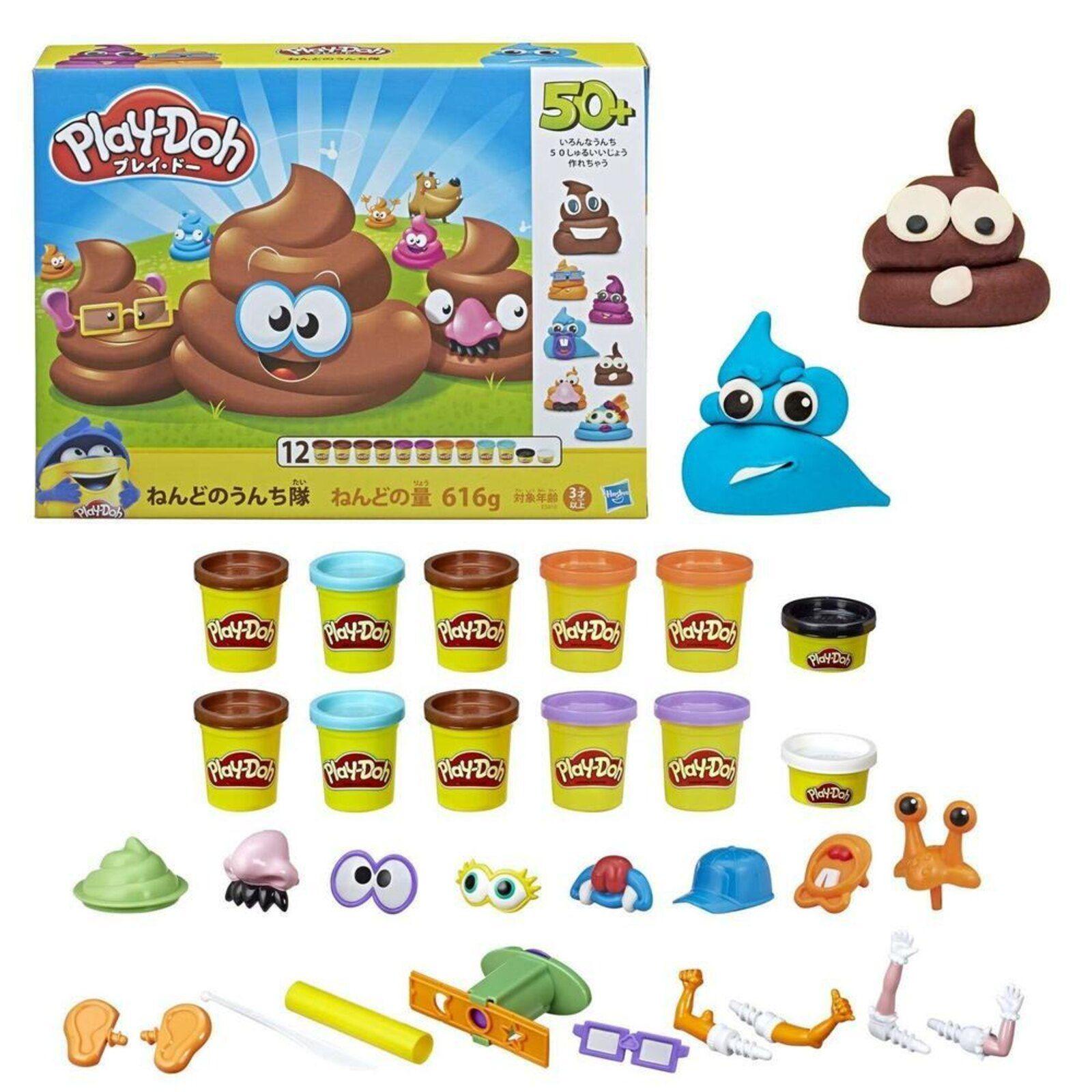 Play-Doh Massinha  - Caquinha Divertida  - Hasbro Original E5810