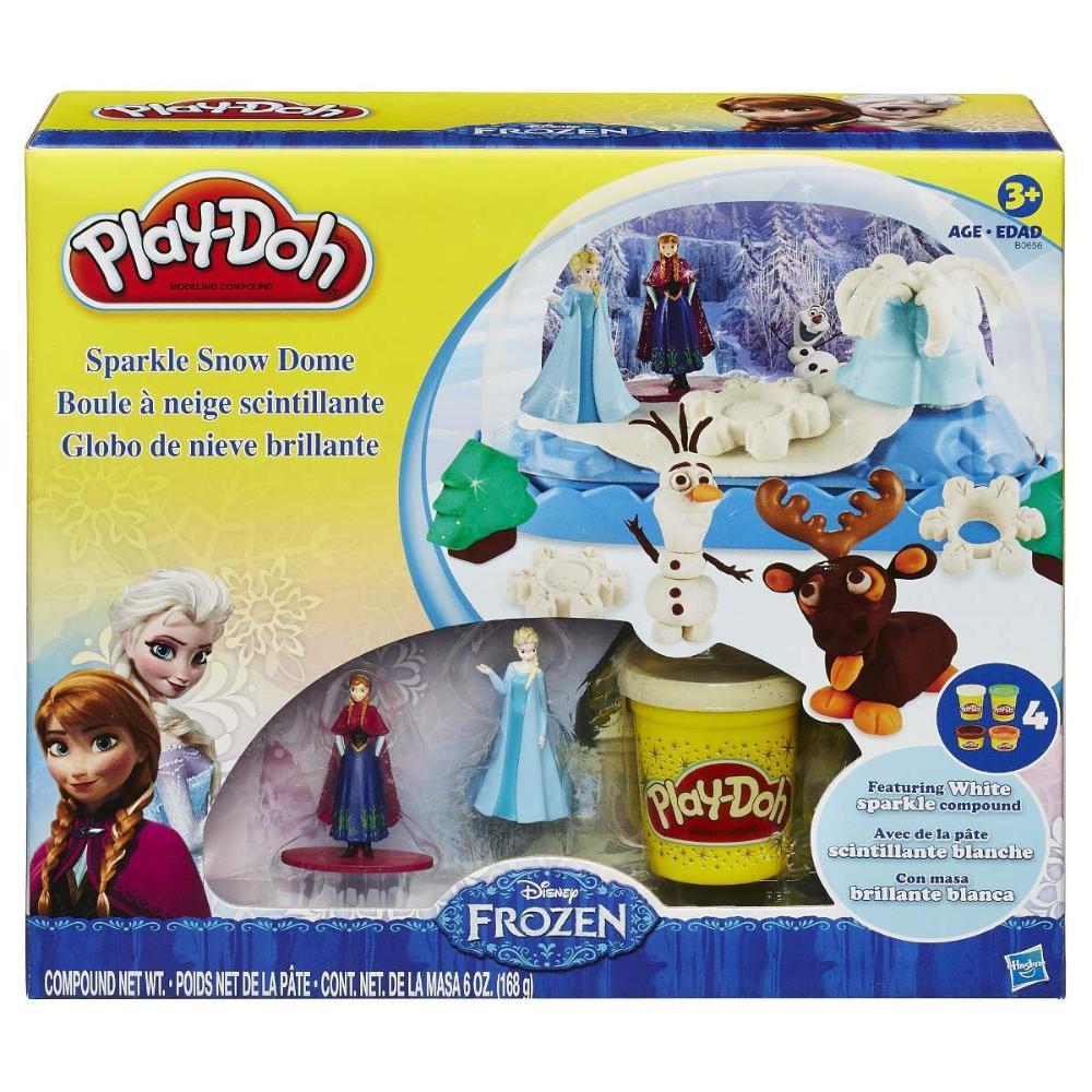 Play-Doh Massinha  - Frozen Globo de Neve - Hasbro Original