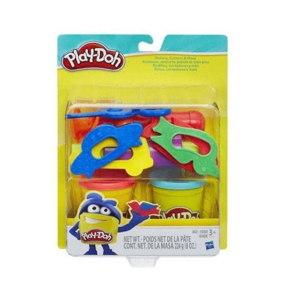 Play-Doh Massinha  -  Rolos Cortados - Hasbro Original B7417