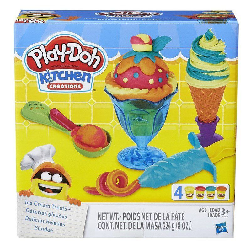 Play-Doh Massinha  - Sundae  - Hasbro Original B1857