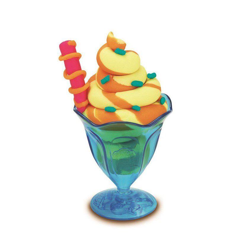 Play-Doh Massinha  - Sundae  - Hasbro Original B1857