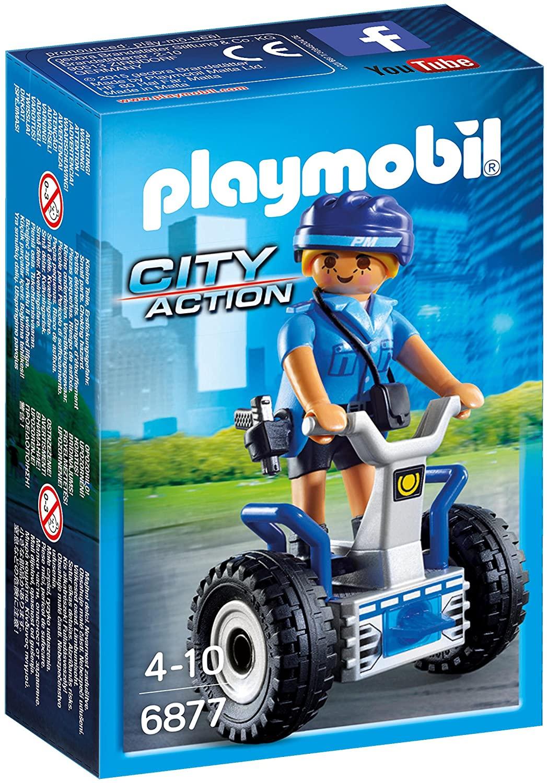 Playmobil 6877 - Policia Feminina Com Segway