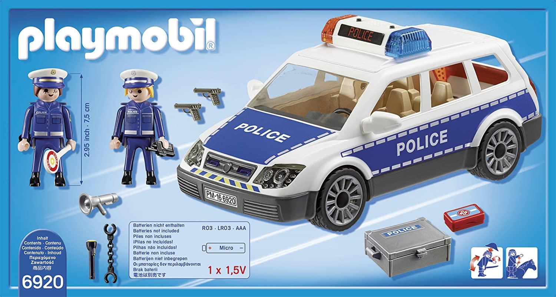 Playmobil 6920 - Viatura Policial Com Guardas - Original