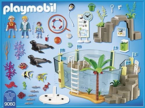Playmobil 9060 - Aquário Marinho - 112 Peças - Original