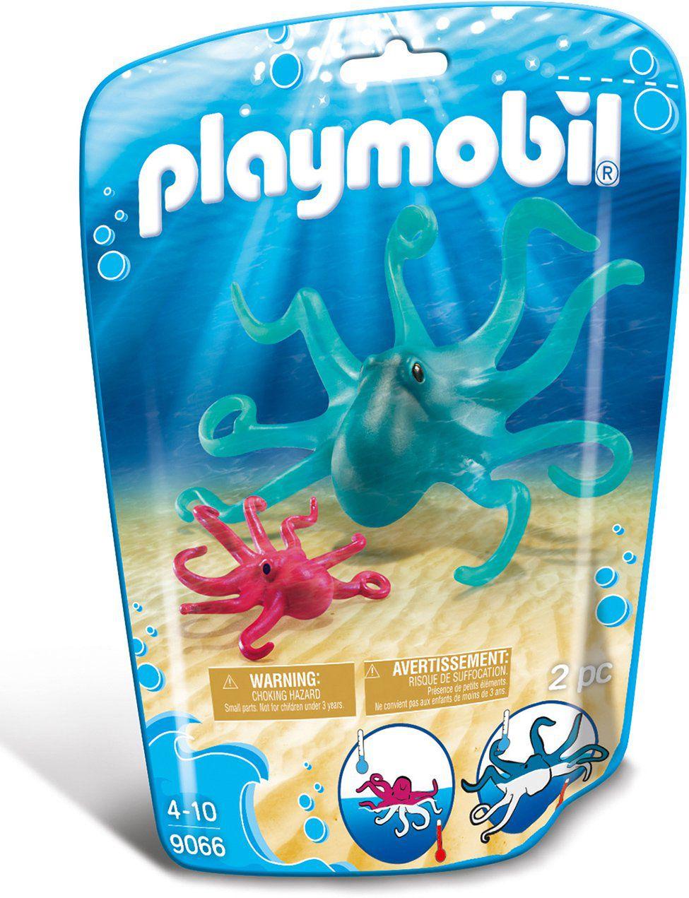 Playmobil Animais Marinhos - Polvo e Filhote - 9066