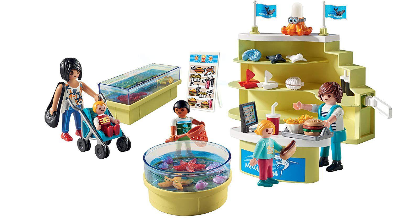 Playmobil Aqua Shopping 68 Peças - Brinquedo Family Fun 9061