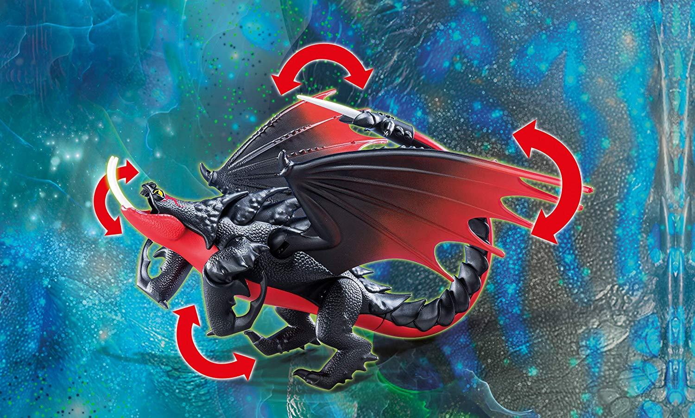 Playmobil - Como Treinar Seu Dragão 3 - Grimmel e Deathgripper - 11 peças