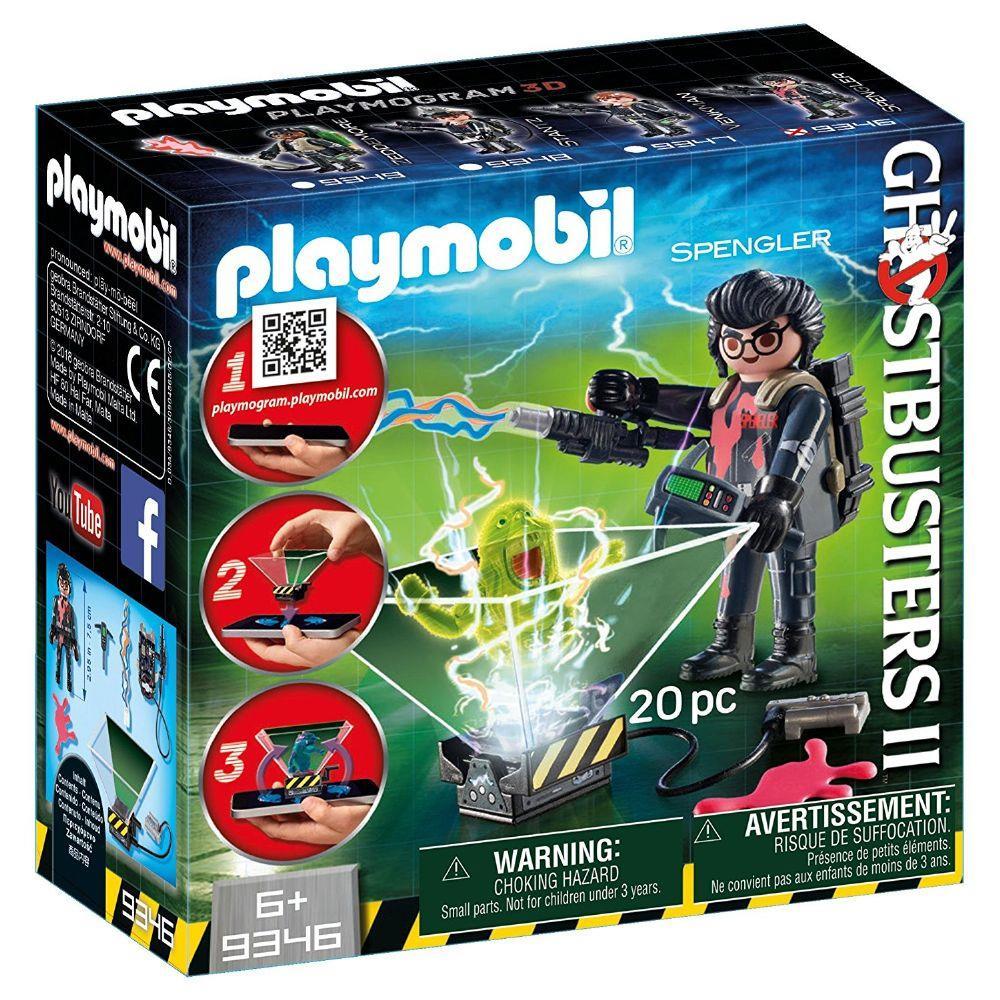 Playmobil Ghostbusters 2 - Spengler - 20 peças - Sunny 9346