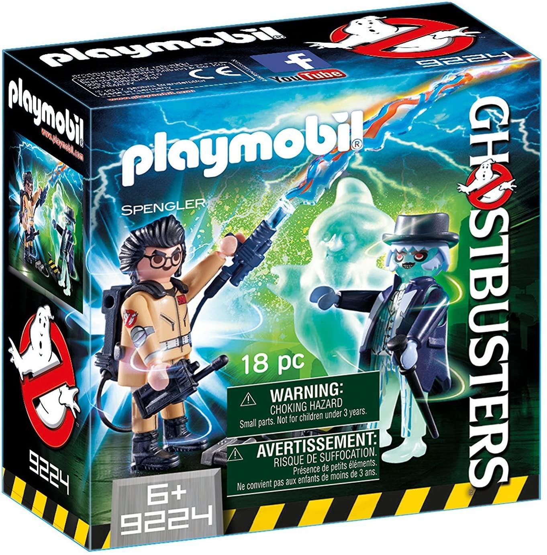 Playmobil Ghostbusters - Spengler e Fantasma - 18 peças - Sunny 9224