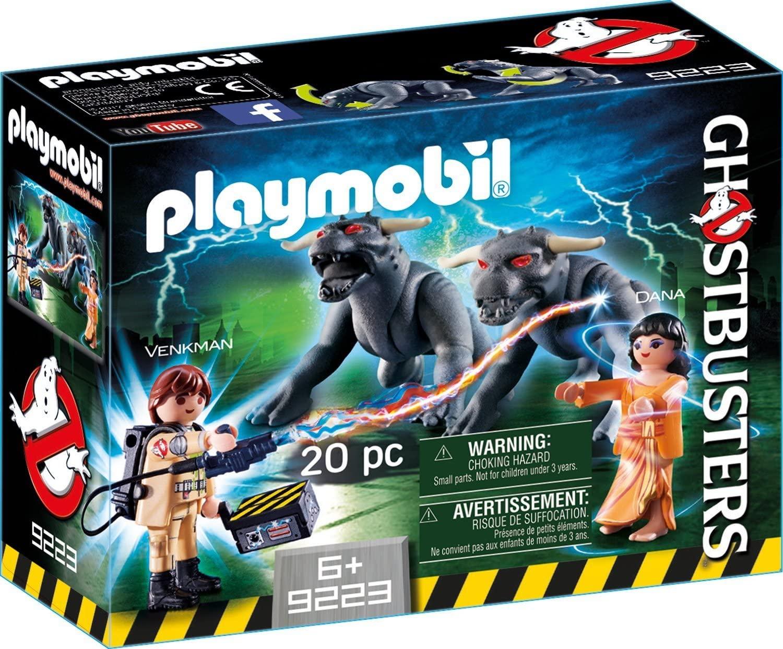 Playmobil Ghostbusters - Venkman e Cães do Terror 20 pçs 9223
