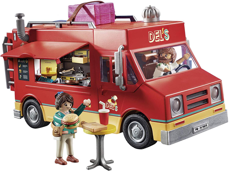 Playmobil O Filme - Del´s Furgão Food Truck - 110 Pc - Sunny