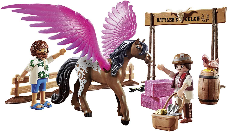 Playmobil O Filme - Marla e Del com Pegasus 41 Peças - Sunny