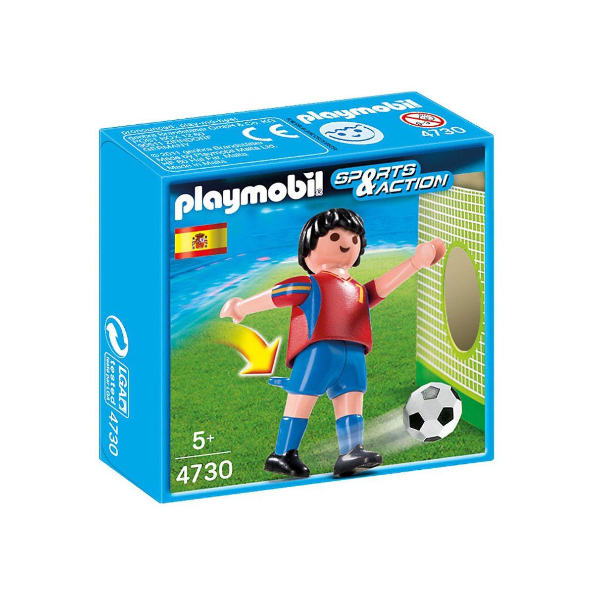 Playmobil Sports e Action - Jogador de Futebol da Espanha- Sunny Original 4730