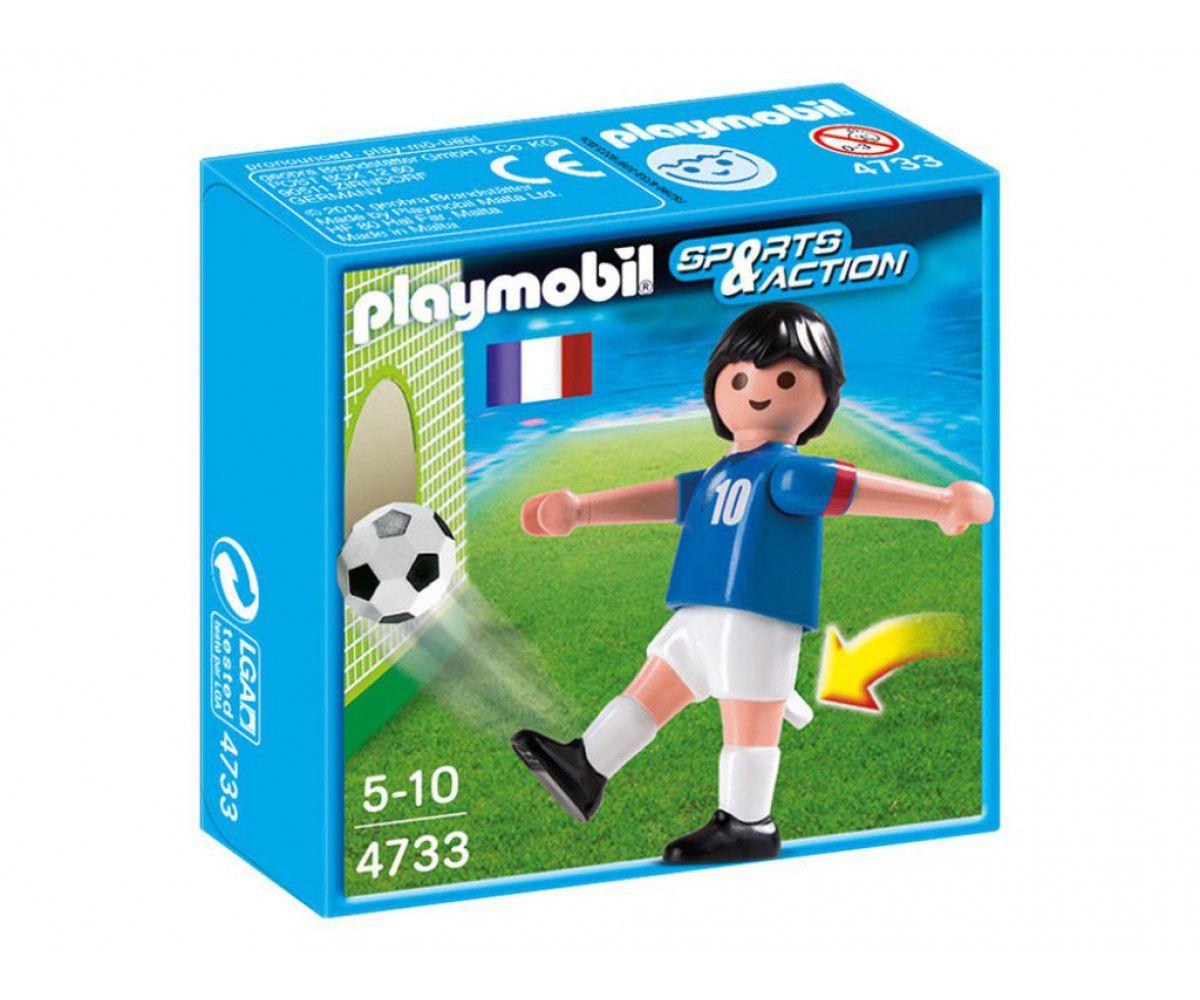 Playmobil Sports e Action - Jogador de Futebol da França - Sunny Original 4733