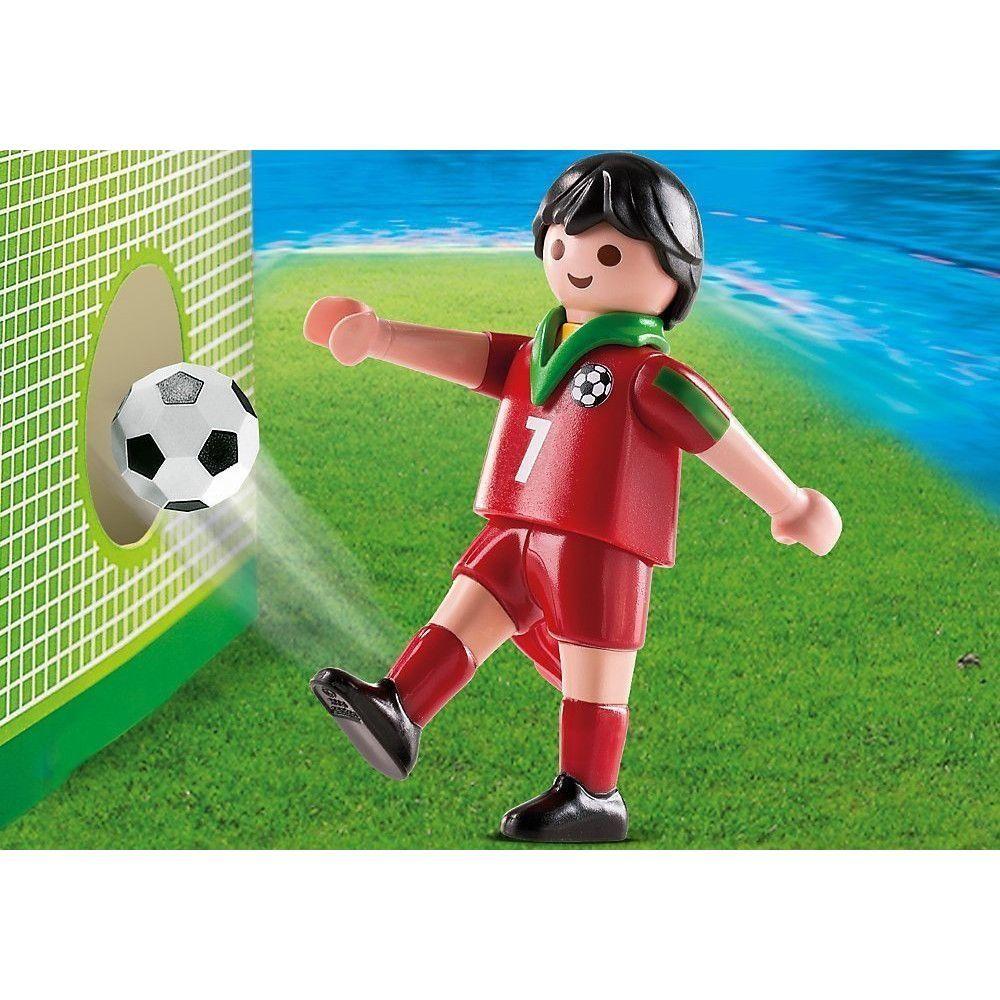 Playmobil Sports e Action - Jogador de Futebol de Portugal - Sunny Original 4734