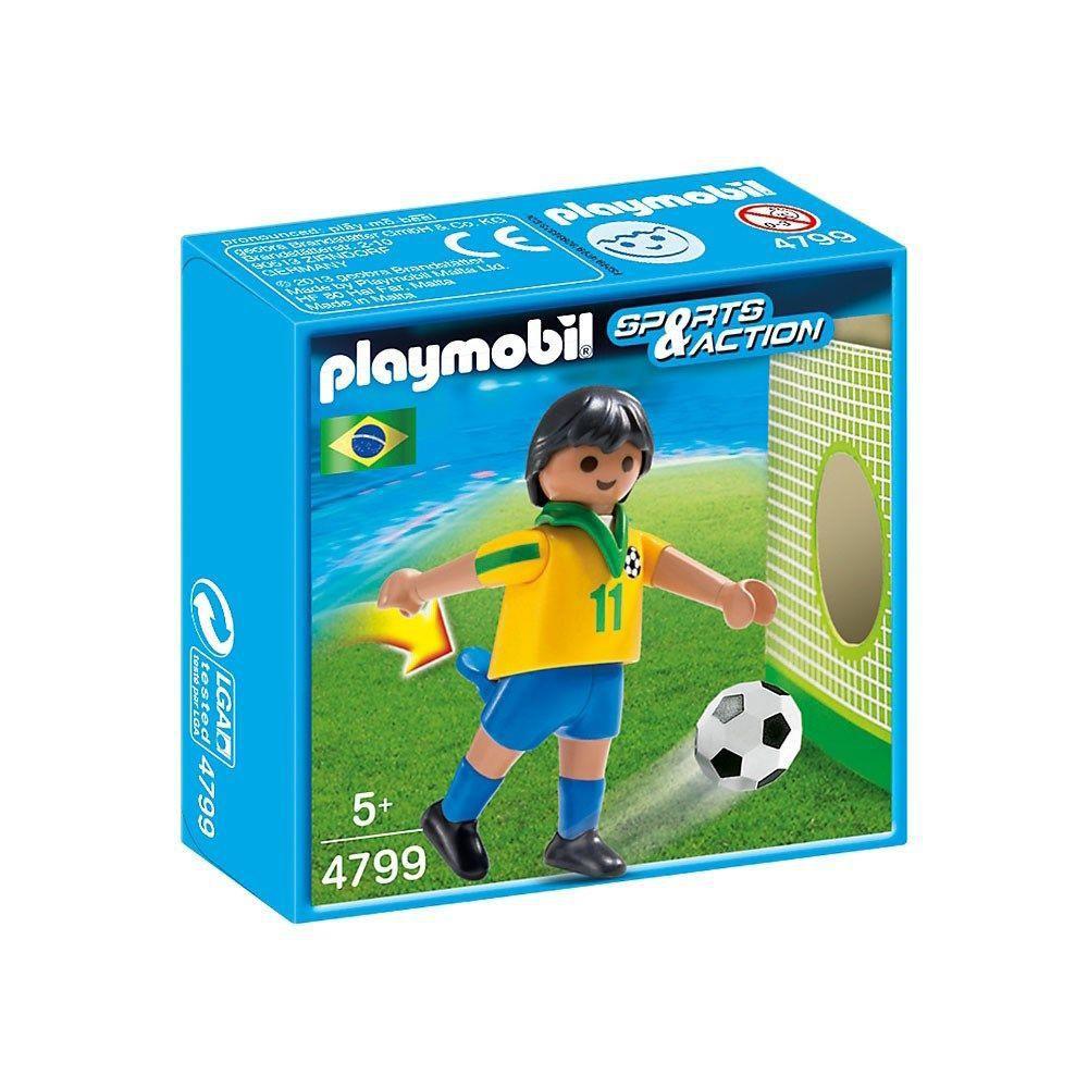 Playmobil Sports e Action - Jogador de Futebol do Brasil - Sunny Original 4799