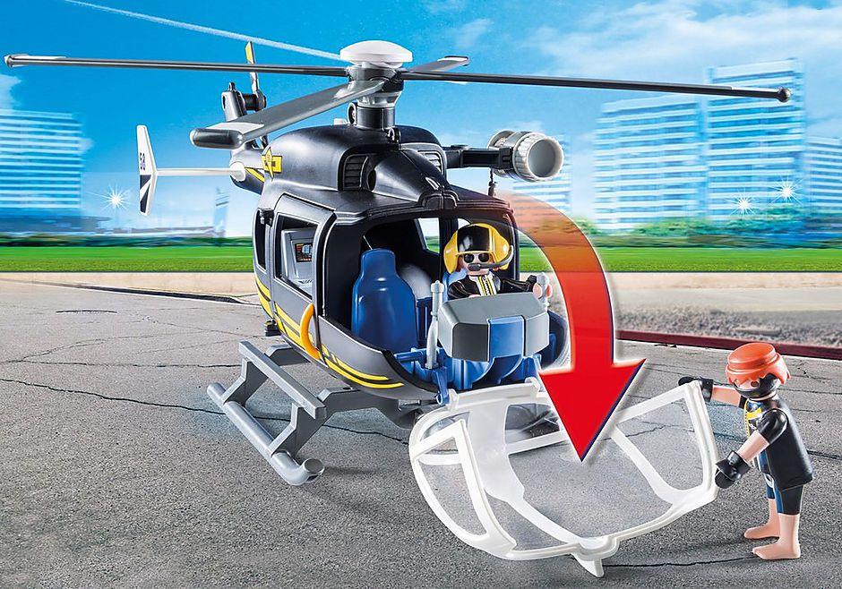 Playmobil - Unidade Tática com Helicóptero - Original