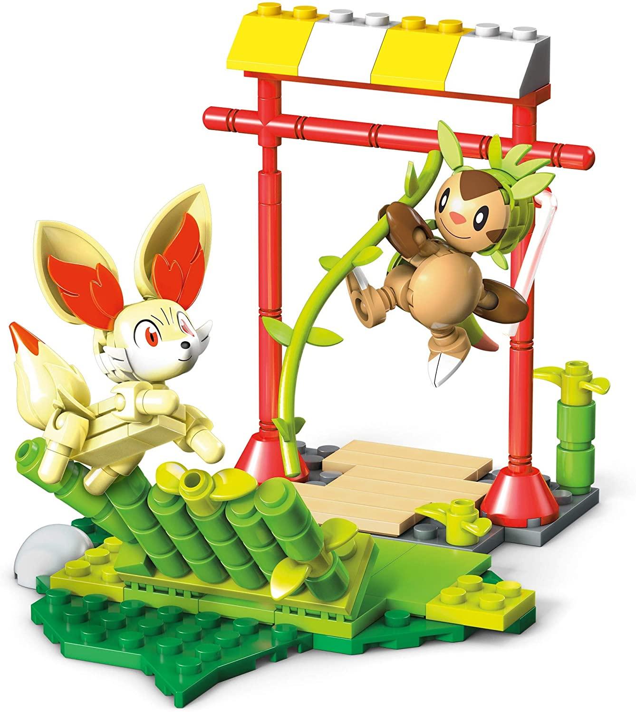Pokémon de Montar Mega Construx - Chespin Vs Fennekin Mattel