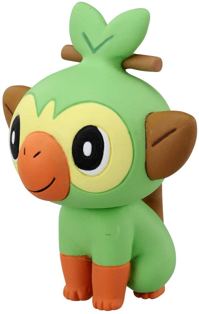Pokemon - Grookey MS-03 - Monster Collection - Takara Tomy