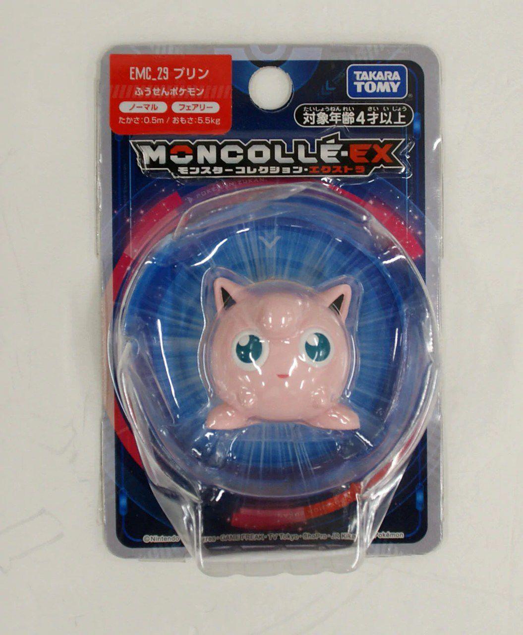 Pokemon - Jigglypuff Emc-29 - Xy Monster Collection - Takara Tomy