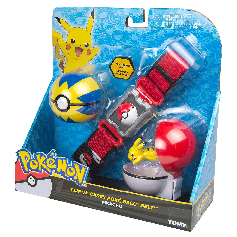 Pokemon Kit Cinturão De Ação- Cinto Porta Pokebola Tomy2  - Japa Colecionáveis
