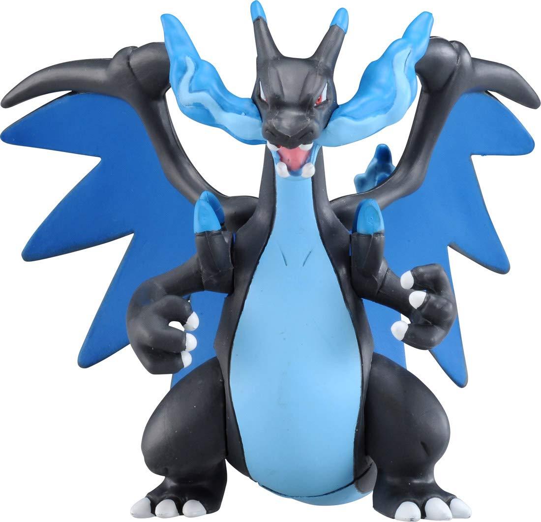 Pokemon - Mega Charizard X - ESP-08 - Monster Collection - Takara Tomy