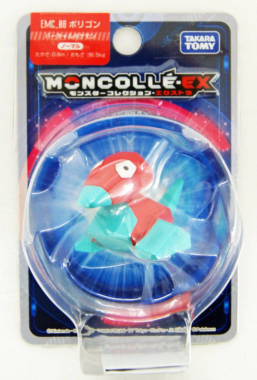 Pokemon - Porygon Emc-08 - Xy Monster Collection - Takara Tomy