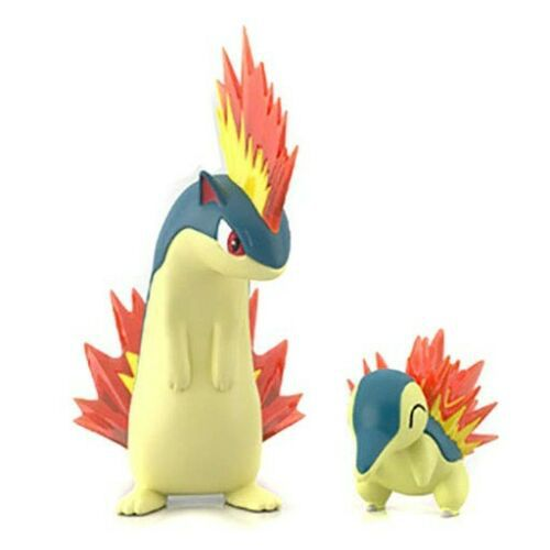 Pokemon Scale World Johto - Cyndaquil & Quilava - Original Bandai