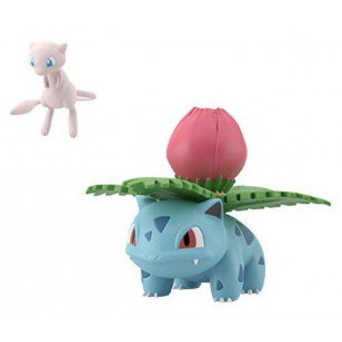 Pokemon Scale World Kanto - Ivysaur e Mew - Original Bandai