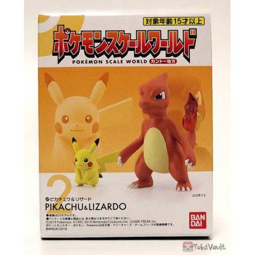 Pokemon Scale World Kanto - Pikachu e Charmeleon -  Bandai