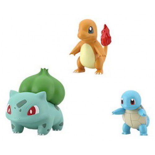 Pokemon Scale World - Squirtle Charmander Bulbasaur - Bandai