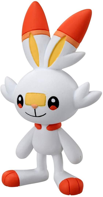 Pokemon - Scorbunny MS-04 - Monster Collection - Takara Tomy