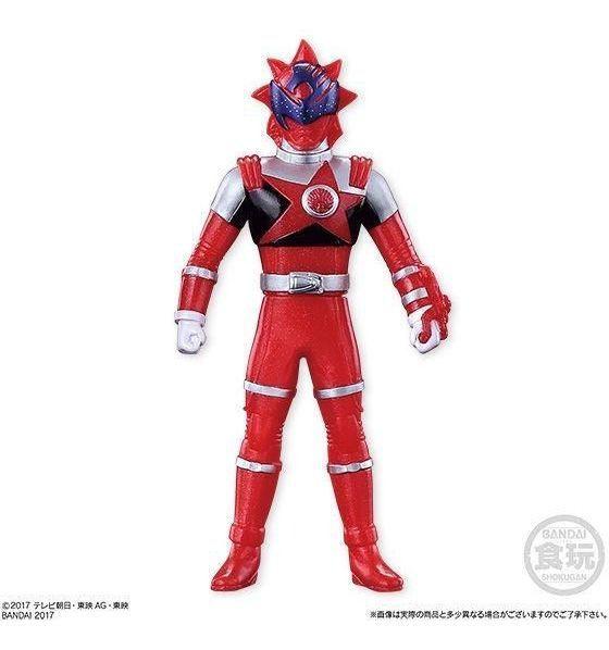 Power Kyu Rangers - Ranger Vermelho  - 12 Cm Original Bandai