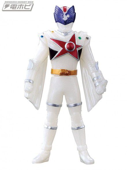 Power Kyu Rangers - Shishi Red Orion  - 12 Cm - Original Bandai