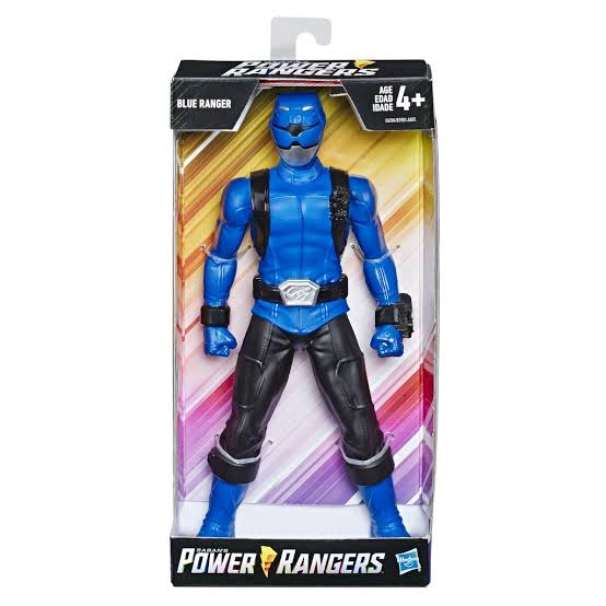 Power Rangers Beast - Figura Grande - Ranger Azul - Hasbro