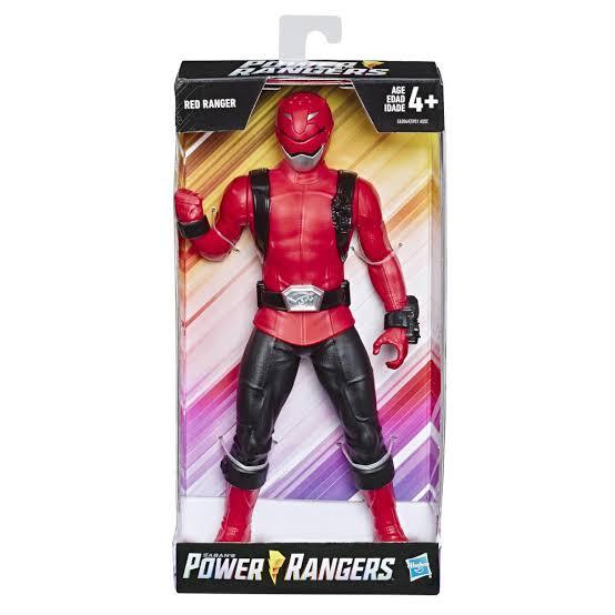 Power Rangers Beast - Figura Grande - Ranger Vermelho Hasbro