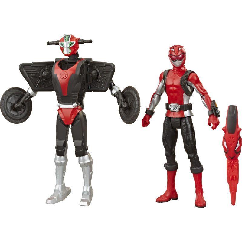 Power Rangers - Beast Morphers - Red Ranger & Cruise Beastbot - Hasbro
