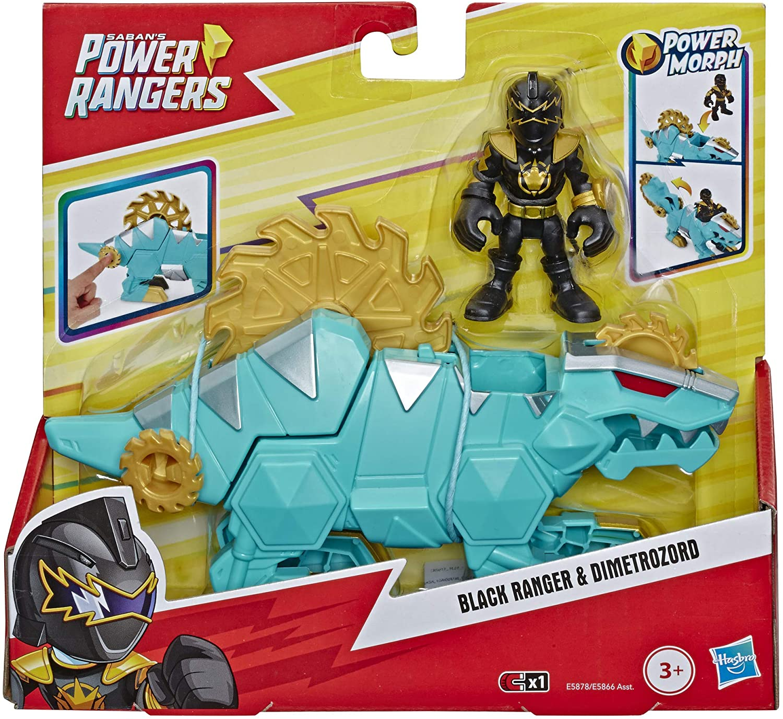 Power Rangers - Black Ranger & Dimetrozord - Hasbro E5866
