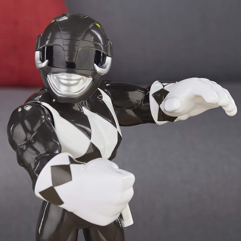 Power Rangers - Black Ranger  Mega Mighties - Playskool - HasbroE5869