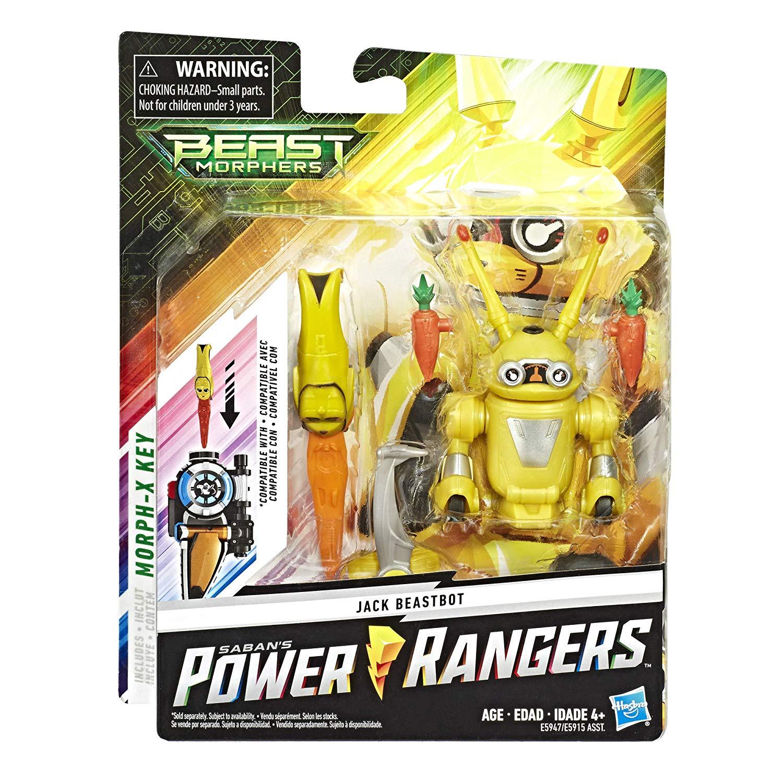 Power Rangers - Boneco Jack Beastbot - Ranger - Hasbro