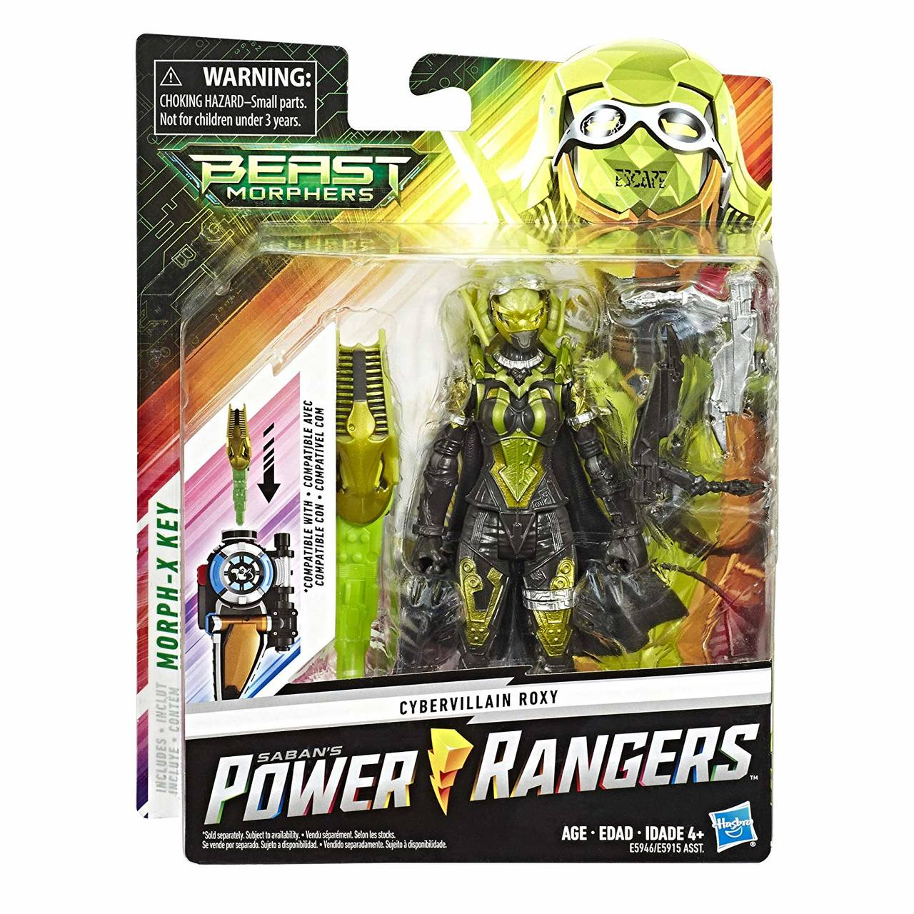Power Rangers - Cybervillain Roxy  - Ranger - Hasbro