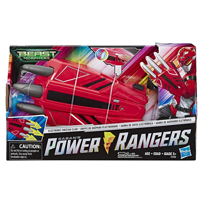 Power Rangers - Garra De Guepardo Eletrônica  - Hasbro E5908